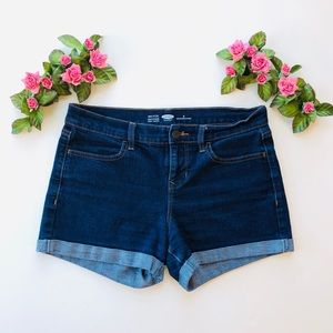 Old Navy Semi-Fitted Stretch Denim Jean Shorts - 6